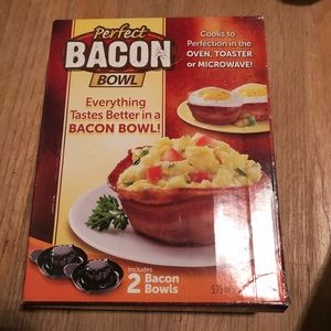 As Seen In Tv Perfect Bacon Bowl